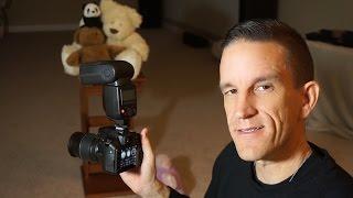 Flash Photography for New Users (i.e. Nikon 3400, Canon T6i, Sony a6000, etc.)