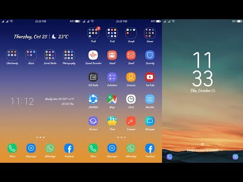 OPPO (ColorOS) Theme : S8 THEME FOR OPPO F9, F7, F5, F3, A71, A83