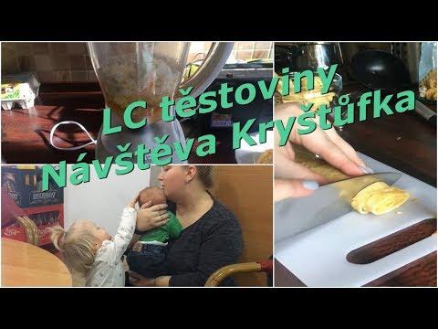 Low Carb těstoviny, návštěva u Kryštůfka | MamaVlog