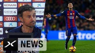 "Luis Enrique: Neymar-Sperre? ""Einspruch richtig"" | Real Madrid - FC Barcelona | LaLiga"