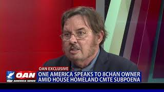 OAN Speaks To 8chan Owner Jim Watkins About Subpoena