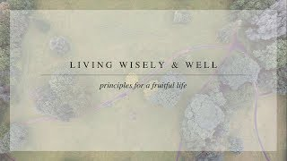 Living a Fruitful Life - John 15 1–8 (August 13th, 2017)