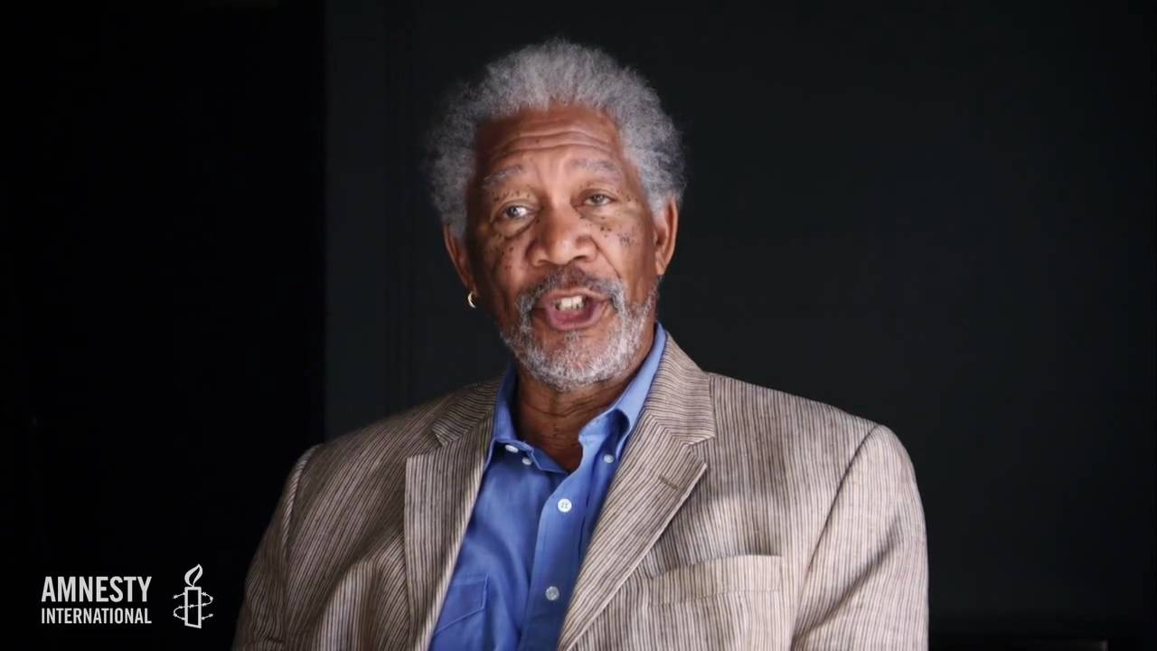 Join Morgan Freeman to Protect Human Rights Through Video Volunteers