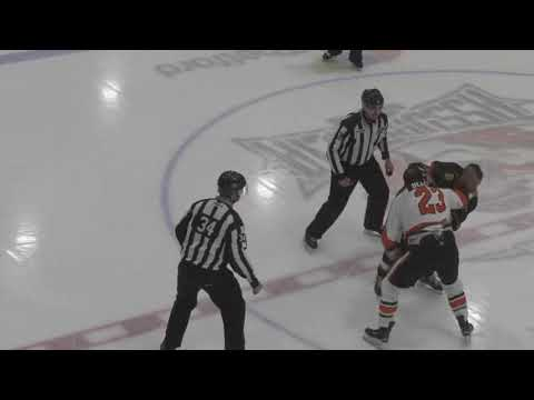 Thomas Bellemare vs. David Lacroix