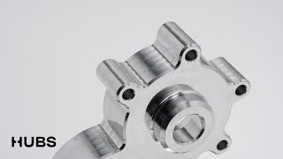 Custom CNC machined spare parts aluminum 6061 black anodized parts high precision cnc machining part youtube video