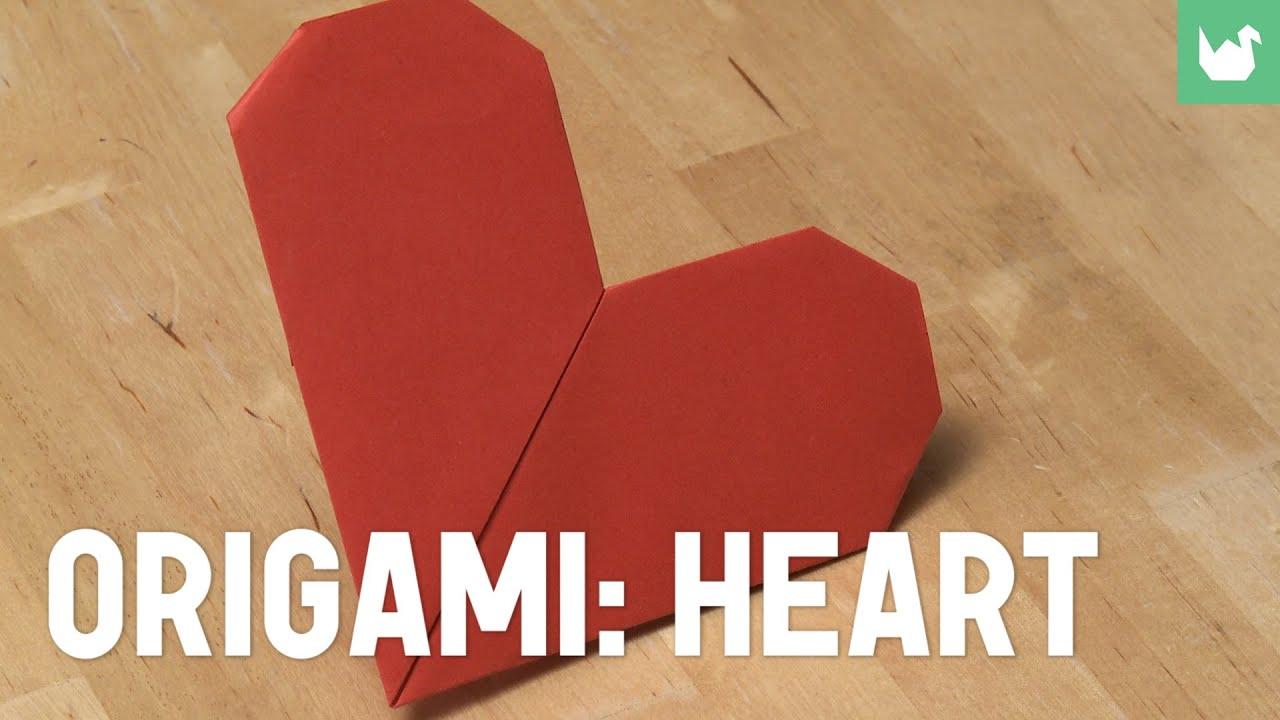 origami heart learn how to make origami sikana