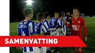 Samenvatting Jong sc Heerenveen - Jong FC Twente