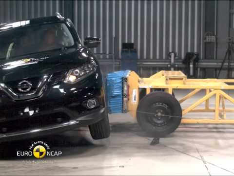 Euro NCAP Crash Test of Nissan X-Trail 2014