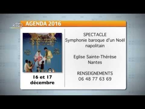 Agenda du 5 décembre 2016