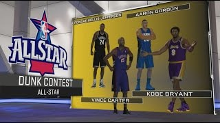 How To Play Slam Dunk Contest in NBA 2K17