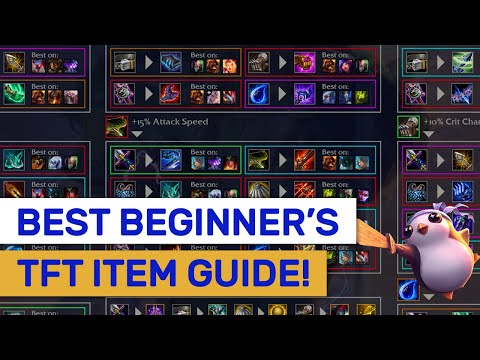 BEST Beginner's ITEM Guide! What To Combine Explained! | TFT | Teamfight Tactics