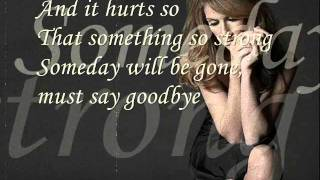 Mp3 Celine Dion Songs Goodbye Lyrics