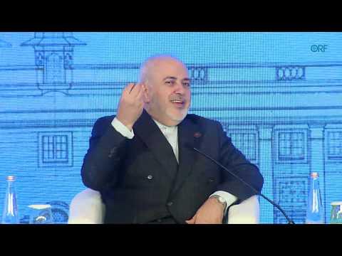 Mohammad Javad Zarif, Foreign Minister of Iran, at Raisina Dialogue 2020
