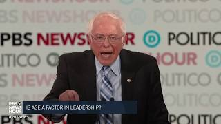 WATCH: Sanders disagrees with Obama that 'old men' are the problem | Sixth Democratic debate