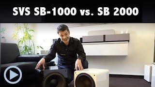 Im Vergleich: SVS SB-1000 vs. SB-2000
