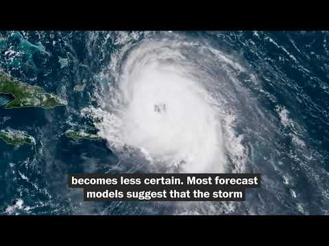 How Hurricane Jose could influence whether Hurricane Maria affects East Coast