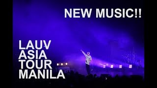 "LAUV in Manila - NEW SONG ""The Sims"""