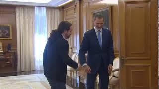 S.M. el Rey se reúne con Pablo Iglesias, Podemos (Unidas Podemos)