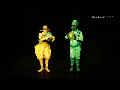 Відео Міми, живі статуї  3