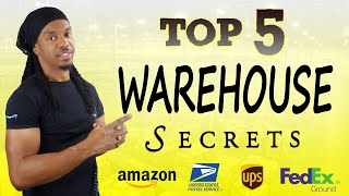 Work ANY WAREHOUSE JOB & SURVIVE In 2021! (No BS Tips) Amazon, UPS, FedEx, USPS - My Experience