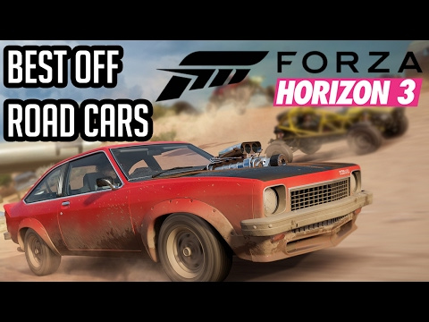 Forza Horizon 3: Best Off Road Cars