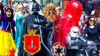 1 апреля, Юморина, Парад на Дерибасовской / Odessa, April 1, Yumorina, Parade On Deribasovskaya