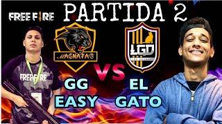 PARTIDA 2 DO X1 ENTRE ELGATO E GGEASY DO FREE FIRE!