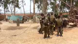preview picture of video 'Paintball Israel  Beit Berl Part 1'