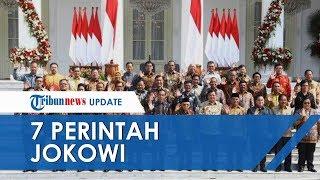 Tujuh Perintah Jokowi untuk Para Menteri Kabinet Indonesia Maju, Sebut Jangan Ada Korupsi