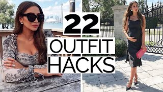 22 Outfit Hacks to Guarantee a Stylish Outfit EVERY TIME