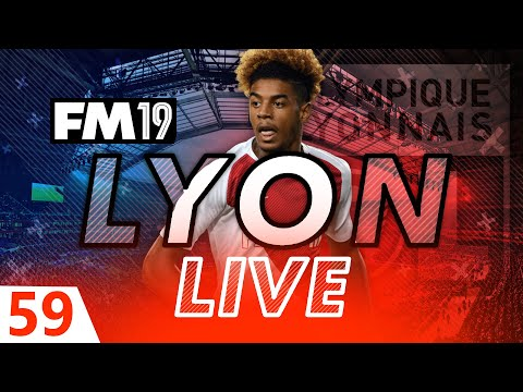 Football Manager 2019 | Lyon Live #59: PSG AGAIN #FM19