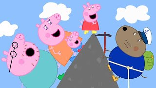 Peppa Pig Official Channel ⛰ Peppa Pig Climbs up the Mountain!