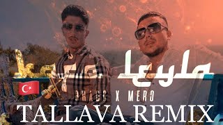 BRADO Feat. MERO   Kafa Leyla 🇹🇷(TALLAVA REMIX) BALKAN (Official Video)