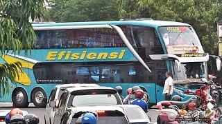 Manuver Keren Bus Double Deckker Efisiensi Menjadi Pusat Perhatian