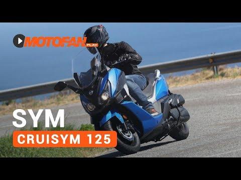 Vídeos de la SYM Cruisym 125i de 2018