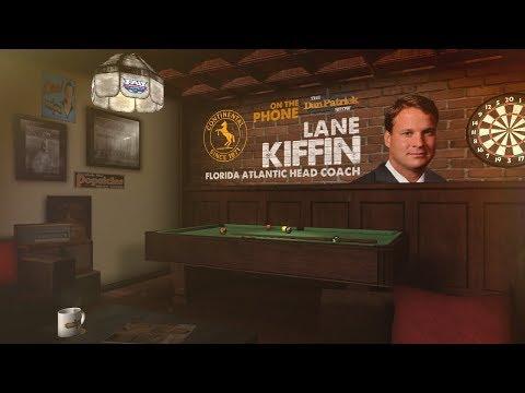 FAU Head Coach Lane Kiffin Talks Saban, Oklahoma & More w/Dan Patrick   Full Interview   8/31/18