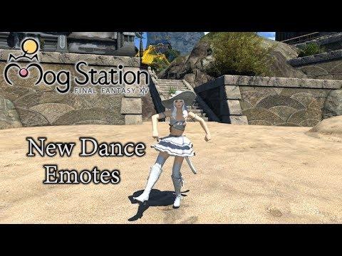 Final Fantasy XIV: Shadowbringers - Hrothgar Race, Dancer