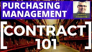 Contract Management 101 - Purchasing and Project Procurement, fixed-price, cost based, and T&M