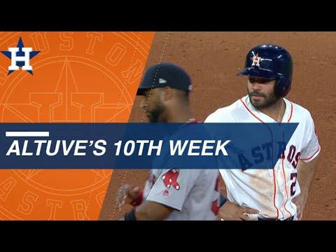 Jose Altuve ignites the Astros