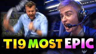 TI9 BEST MOST EPIC MOMENTS! - THE INTERNATIONAL 2019 DOTA 2