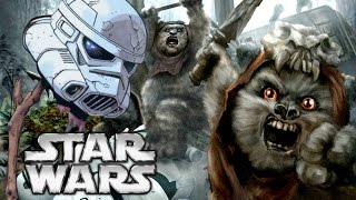 Did Ewoks Eat Stormtroopers in Return of the Jedi?
