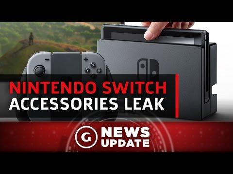 Nintendo Switch Accessories From Hori Leak - GS News Update