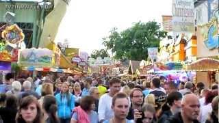 preview picture of video 'Herne Cranger Kirmes das größte Volksfest Nordrhein-Westfalens mit Millionen Besucher Sa. 4.8.2012'