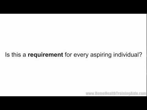 Home Health Aide Exam - YouTube