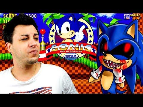 Sonic pète les plombs (Sonic.exe)