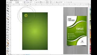 how to make awesome flyer template using coreldraw
