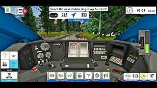 Euro Train Simulator 2 | New Update | Android Gameplay