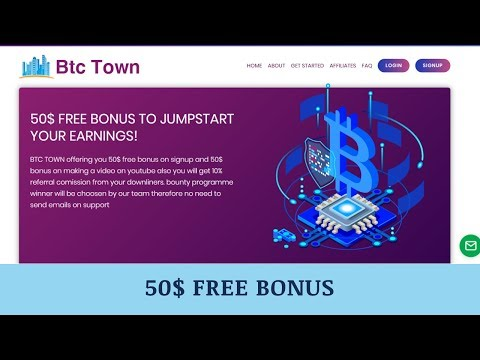 Btctown.biz отзывы 2019, mmgp, обзор, 50$ FREE BONUS TO JUMPSTART YOUR EARNINGS!