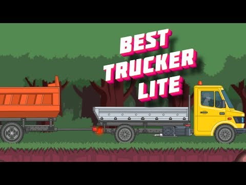 I play Best Trucker Lite I transfer boards to a furniture factory on a new truck