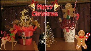 2 Easy Christmas Centerpieces